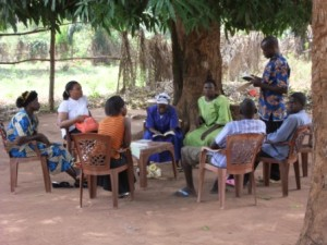 RinJ practice group in S Sudan