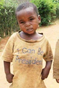 The potential of a child in Tanzania!