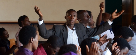 Young leaders in Kigali