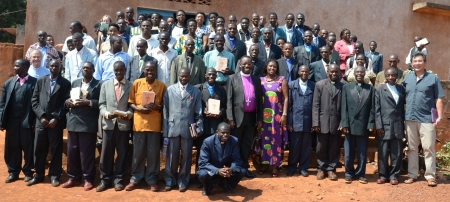 Participants at the conference in Muyinga