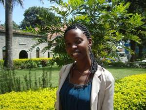 Cate Mwega, the new RinJ Tanzania Adminisrator