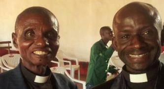 Ven Ngoi Lwakabila Vincent and Revd Banze Mukangala