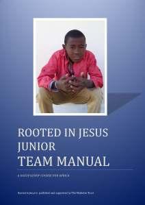 RinJ Junior Team Manual cover 2017
