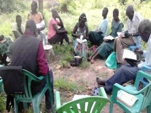 RinJ training in Morobi refugee camp