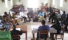 Bishop Bertin Subi meets with RinJ group leaders